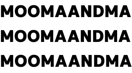 MOOMAANDMA