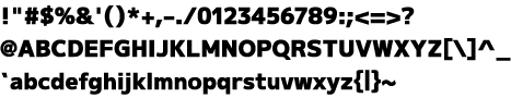[ M+ 1 black ] 字間設定作業中